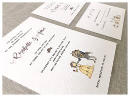 wedding invitation rsvp date enchanted wedding invitation set beauty and the beast wedding