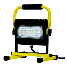 120v led flood lights prolight led slim series flood light 50w w floor stand probuilt