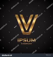 letter v metallic texture3d glossy metal stock vector 586864391