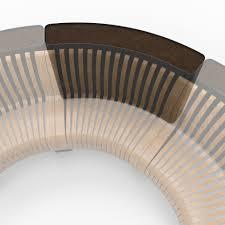 radius planter divider green furniture concept