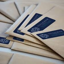 return address labels cut to size or roll uprinting