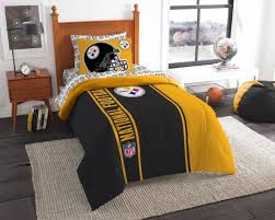 pittsburgh steelers 5 pc bed in a bag