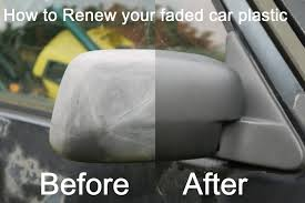 top hack how to restore faded plastic bumpers and trims on a car