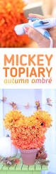 Mickey Mouse Topiary Easy Diy Mickey Topiary For Fall Lifestyle Blog