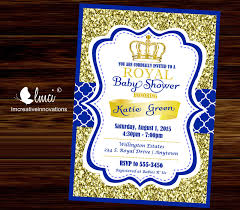prince baby shower invitations royal ba shower invitation prince ba showerblue prince baby