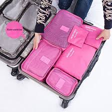 travel organizer images Cocoly 7pcs travel organizers packing cubes luggage organizers jpg