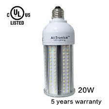 ali tronics 20w led corn bulb replace cfl 80w and metal halide 70w