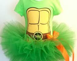 Green Tutu Halloween Costume Ninja Turtle Tutu Etsy