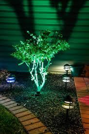 led landscape tree lights multi color led landscape lighting lawhornestorage com