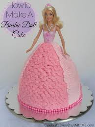 How To Decorate A Birthday Cake Best 25 Doll Cakes Ideas On Pinterest Barbie Cake Frozen