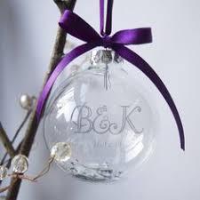 personalised tree decoration baubles specialkeepsake