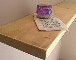 Distressed Wood Shelves by Floating Shelves Etsy