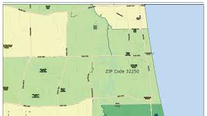 Us Zip Code Map by Which Zip Codes On The First Coast Dress The Best Jacksonville