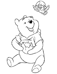 winnie pooh easter coloring pages getcoloringpages