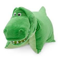 wdw store disney pillow pet rex toy story dinosaur