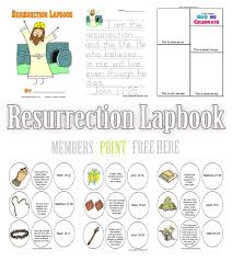 easter resurrection eggs free easter lapbook resurrection lapbook