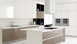contemporary white kitchen designs engaging white kitchen design with modern faucet and simple oven