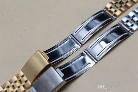 titanium bracelet watches images Watchband mens wrist watches brand luxury 20mm thin watch band jpg