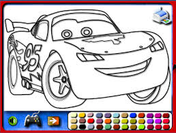 coloring extraordinary cars coloring games car kids