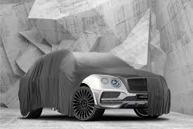 bentley all black mansory to make the bentley bentayga better by car magazine