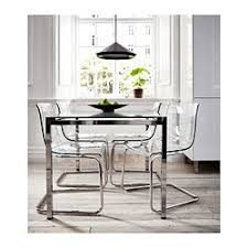 Clear Dining Room Table Glivarp Extendable Table Ikea Expandable Leaf And The Glass Top