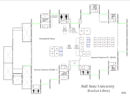 Ball State Parking Map by Floorplans For Ball State University Libraries