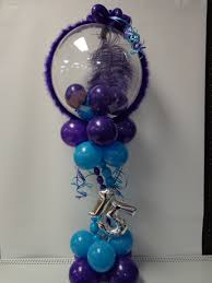 quinceanera centerpieces quinceanera sweet 16 balloons at it s my party