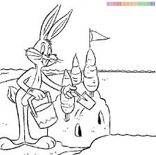 baby bugs bunny coloring pages coloring