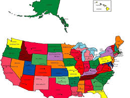 usa map with names map usa with all names major tourist attractions maps