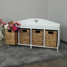 White Storage Bench For Bedroom White Storage Bench Bedroom Diy Custom White Storage Bench