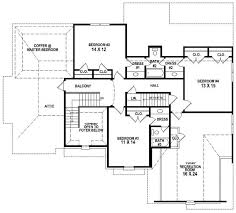 Jack And Jill Floor Plans 19 Floor Plan 1600 Sq Ft House Modern House Plans