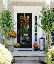 the yellow cape cod our fall home finding fall home tour with bhg