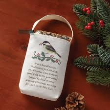scandinavian christmas birdseed bag u2013 chinaberry gifts to delight