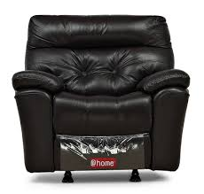 one and a half seater sofa 1 seat recliner sofa online single leather recliner home at home