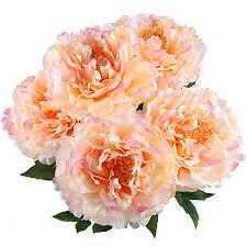 Silk Flower Arrangements For Office - gtidea silk peony artificial flower arrangements wedding bouquets