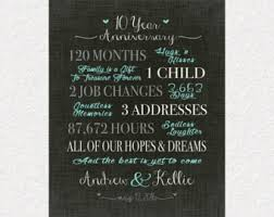 10 year anniversary gift ideas for spectacular 10 year wedding anniversary gift ideas b72 in images