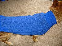 knitted dog sweater pattern