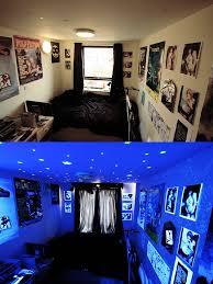 Black Light Bedrooms Bedroom Black Light My Bedroom With Normal Lighting And Th Flickr