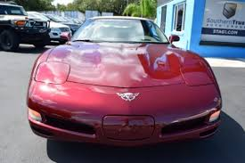 used corvettes florida chevrolet corvette convertible in florida for sale used cars on