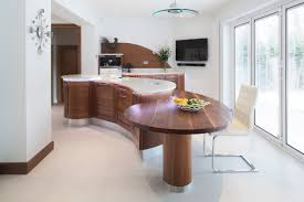 curved island kitchen designs stunning stoneham kitchen with sweeping curved island norman