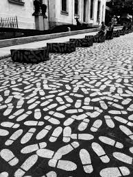 Download Black And White Floor by Free Images Black And White Sidewalk Floor Cobblestone
