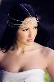 jewelled headdress mara bohemian goddess vintage jeweled headband