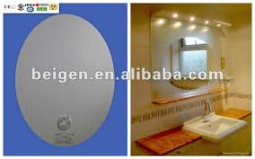 fog free glass mirror defogging pad anti fog bathroom mirror