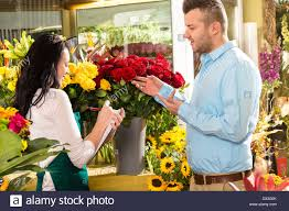 ordering flowers customer ordering flowers bouquet flower shop florist stock