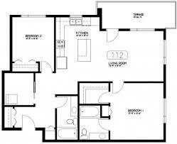 unique 2 bedroom house plans unique condo house plans 4 2 bedroom