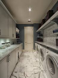 laundry rooms blue gray wall color design ideas