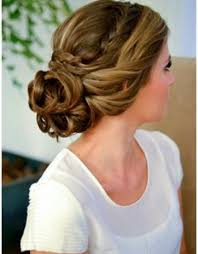 hairstyles for a wedding braided low updo hairstyles for curly