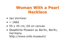 vermeer pearl necklace stories selected paintings of jan vermeer and his