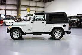 lj jeep tj silver 17k u2014 davis autosports