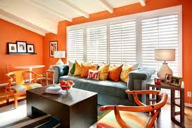 Orange Living Room Decor Amazing Orange Living Room Ideas Fancy On Designing With Regard To